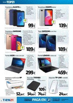 Ofertas de Toshiba  en el folleto de Tien 21 en Madrid