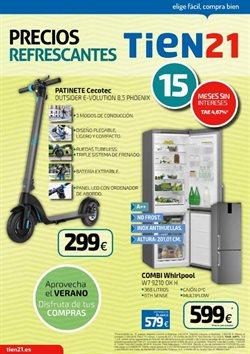 Ofertas de Tien 21  en el folleto de Madrid