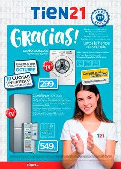 Catálogo Tien 21 en Madrid ( Publicado ayer )