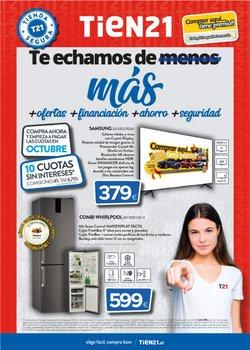 Catálogo Tien 21 en Valladolid ( Más de un mes )