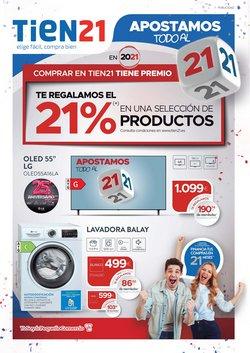 Catálogo Tien 21 ( Caduca hoy)