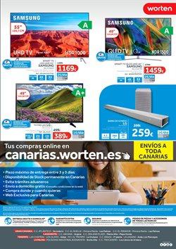 Ofertas de Televisores  en el folleto de Worten en Las Palmas de Gran Canaria