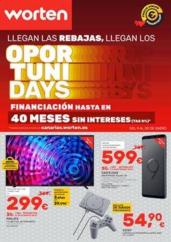 Ofertas de Informática y electrónica  en el folleto de Worten en San Cristobal de la Laguna (Tenerife)