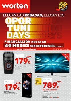 Ofertas de Telefonía  en el folleto de Worten en Santa Lucía de Tirajana