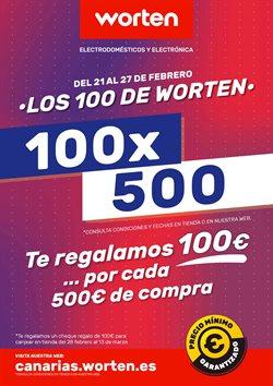Ofertas de Informática y electrónica  en el folleto de Worten en San Bartolomé de Tirajana