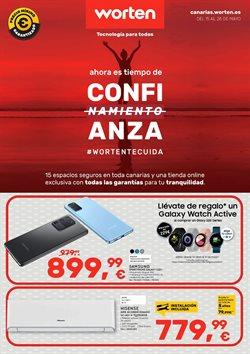 Ofertas de Informática y Electrónica en el catálogo de Worten en Santa Cruz de Tenerife ( 3 días más )