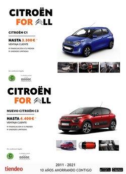 Catálogo Citroën ( 18 días más)