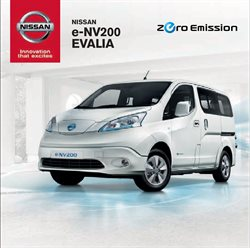 Ofertas de Nissan  en el folleto de Valencia