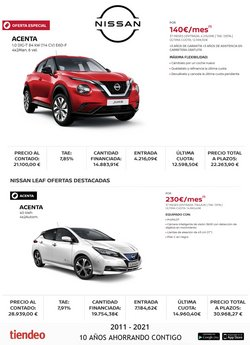 Catálogo Nissan ( 22 días más)