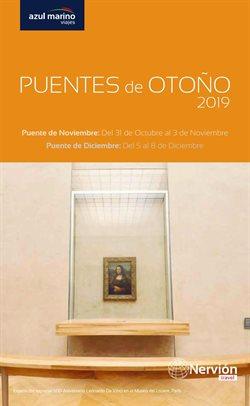 Ofertas de Viajes Azul Marino  en el folleto de Prat de Llobregat