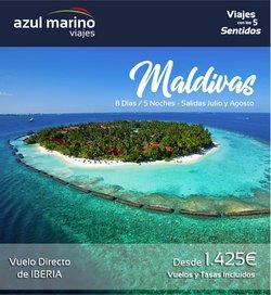 Ofertas de Viajes Azul Marino en el catálogo de Viajes Azul Marino ( Más de un mes)