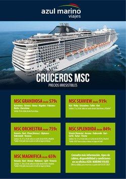 Ofertas de Viajes Azul Marino en el catálogo de Viajes Azul Marino ( 3 días más)
