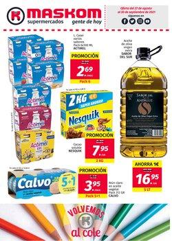 Catálogo Maskom Supermercados ( Caduca mañana)