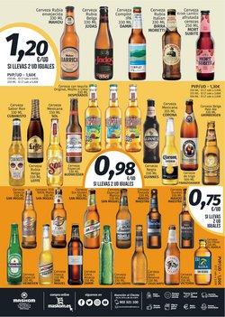 Ofertas de Cerveza de trigo en Maskom Supermercados