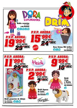 Ofertas de Diario monstruoso Monster High  en el folleto de DRIM en Madrid