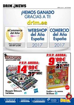 Ofertas de Monopoly  en el folleto de DRIM en Madrid