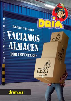 Ofertas de DRIM  en el folleto de Madrid