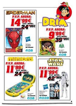 Ofertas de Spiderman  en el folleto de DRIM en Madrid