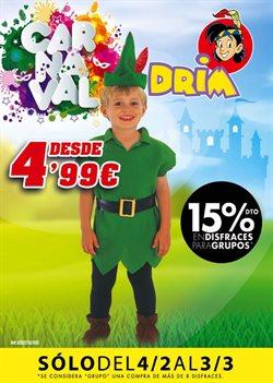 Ofertas de Juguetes y bebes  en el folleto de DRIM en Terrassa