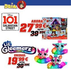 Ofertas de Juguetes y Bebés  en el folleto de DRIM en Mollerussa