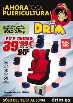 Ofertas de Juguetes y Bebés en el catálogo de DRIM en Montcada i Reixac ( 26 días más )