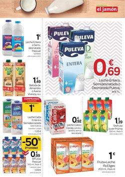 Ofertas de Puleva en el catálogo de Supermercados El Jamón ( Caduca mañana)