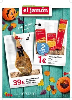 Ofertas de Supermercados El Jamón  en el folleto de Sevilla
