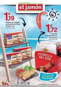 Ofertas de Supermercados El Jamón  en el folleto de Utrera