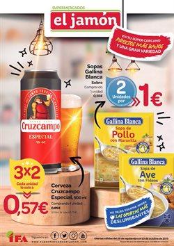 Ofertas de Supermercados El Jamón  en el folleto de Los Palacios y Villafranca
