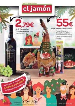 Ofertas de Supermercados El Jamón  en el folleto de Huelva