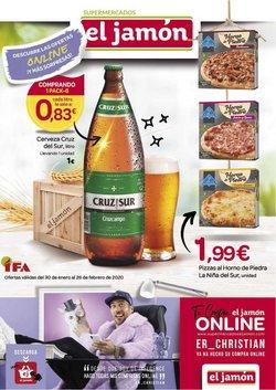 Ofertas de Hiper-Supermercados en el catálogo de Supermercados El Jamón en Valverde del Camino ( 7 días más )