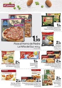 Ofertas de Tortilla de patatas en Supermercados El Jamón