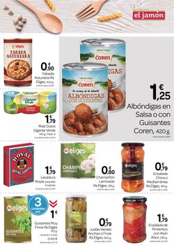Ofertas de Platos tradicionales en Supermercados El Jamón