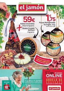Catálogo Supermercados El Jamón en Ecija ( 22 días más )