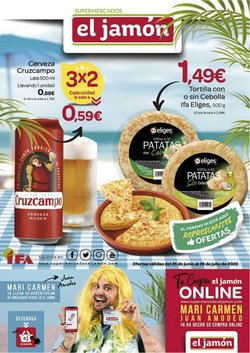 Catálogo Supermercados El Jamón en Rota ( 19 días más )
