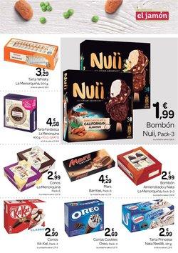 Ofertas de Tartas en Supermercados El Jamón