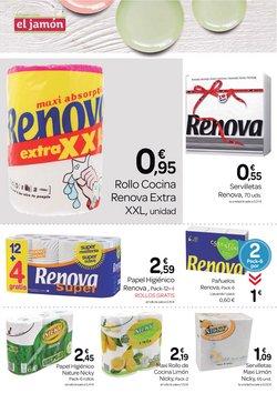 Ofertas de Renova en Supermercados El Jamón