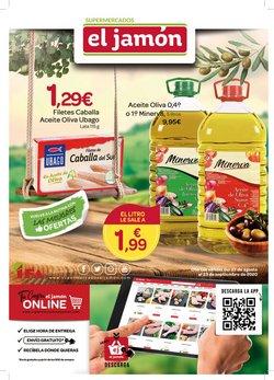 Catálogo Supermercados El Jamón en Paterna del Campo ( 4 días más )