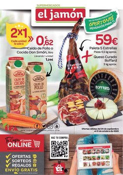 Catálogo Supermercados El Jamón en Huelva ( 20 días más )