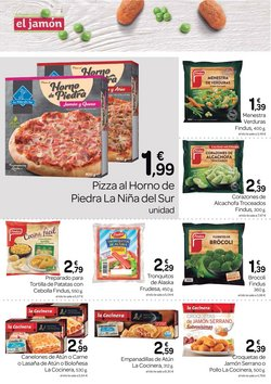 Ofertas de Empanadillas en Supermercados El Jamón