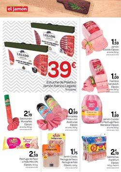 Ofertas de Bocadillos en Supermercados El Jamón