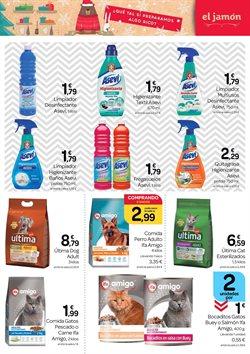 Ofertas de Desinfectante en Supermercados El Jamón