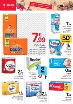 Ofertas de Pañuelos de papel en Supermercados El Jamón