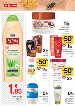 Ofertas de Babaria en Supermercados El Jamón