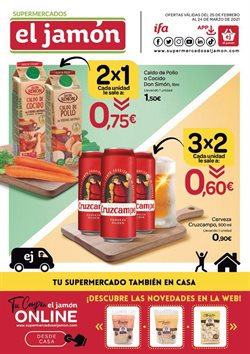 Catálogo Supermercados El Jamón ( 19 días más)