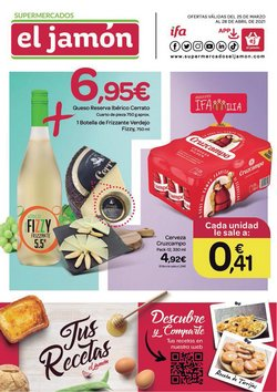 Catálogo Supermercados El Jamón ( 7 días más)