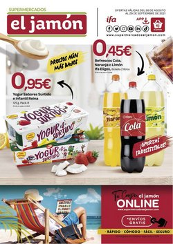 Catálogo Supermercados El Jamón ( Caduca mañana)