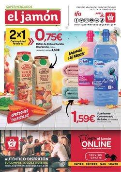 Catálogo Supermercados El Jamón ( 3 días más)