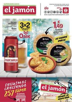 Catálogo Supermercados El Jamón ( 23 días más)