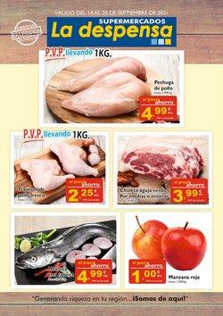 Ofertas de Supermercados La Despensa en el catálogo de Supermercados La Despensa ( Caduca hoy)